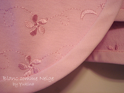 Knit/pink set